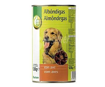 Productos Económicos Alcampo Comida Húmeda para Perros. Albóndigas Ave 1230g