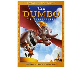 ANIMACIÓN Película en Dvd Dumbo, edición especial 70 aniversario, Clásicos Disney. Género: infantil, familiar, animación, clásicos. Edad: TP 70th