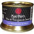 Bloc de foie gras de pato con mermelada de higos lata 130 g lata 130 g Mas pares