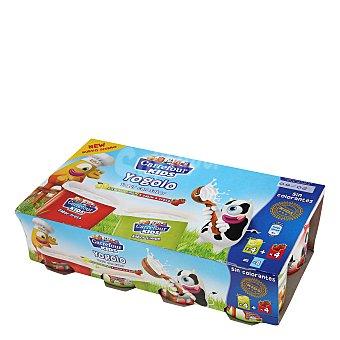 Carrefour Kids Yogur de fresa y limón Pack 8x125 g