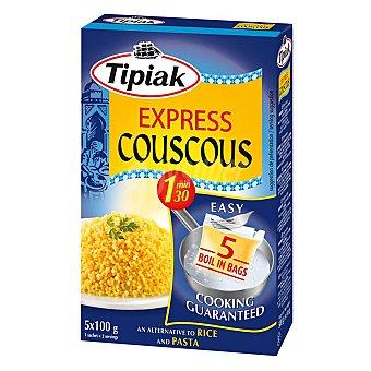 Tipiak Cous Cous Express Pack de 5 unidades de 100 g