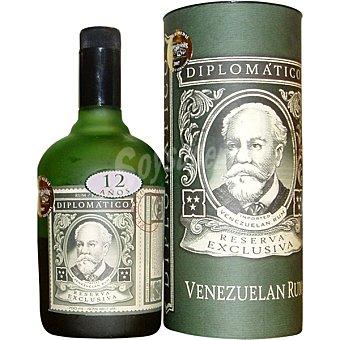 Diplomatico Ron reserva exclusiva 12 años Venezuela botella 70 cl botella 70 cl