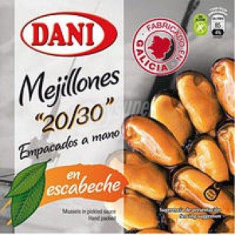 Dani Mejillón en Escabeche 20-30 Piezas 280g