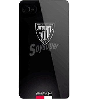 Ideus Carcasa negra con logo athletic escudo para IPHONE4 ideus