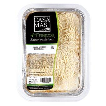 Casa Mas Lasaña verduras Paquete 400 gr
