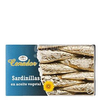 Cenador Sardinillas en aceite vegetal 63 g
