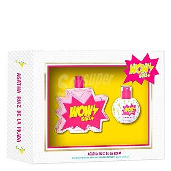 Ágatha Ruiz de la Prada Estuche con Wow Girl eau de toilette femenina natural spray 30 ml + Bubble eau de toilette femenina natural Spray 30 ml
