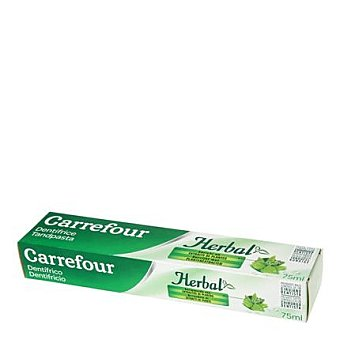 Carrefour Dentífrico Herbal 75 ml 75 ml