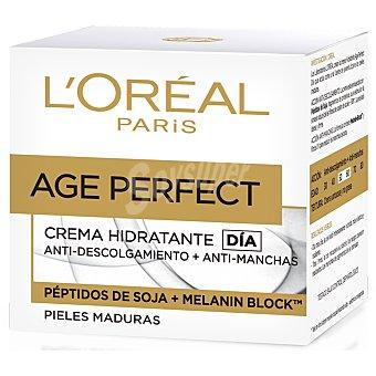 Age Perfect L'Oréal Paris Renacimiento Celular - crema de día reconstituyente SPF-15 piel radiante frasco 50 ml