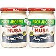 Mayonesa sin gluten Pack 2 bote 400 ml Musa