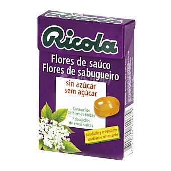 Ricola Caramelo Flores de saúco sin azúcares Caja de 50 g