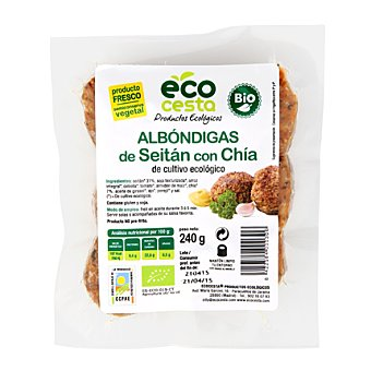 Ecocesta Albondigas seitan bio 240 g
