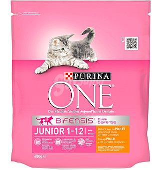 One Purina Comida para Gatos Purina  JUNIOR 450 gr