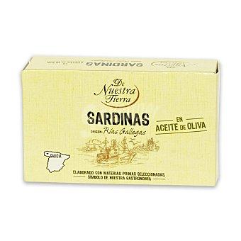 De Nuestra Tierra Sardinas en aceite oliva 80 G 80 g