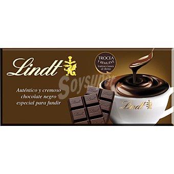 LINDT chocolate negro a la taza 51% cacao tableta 200 g