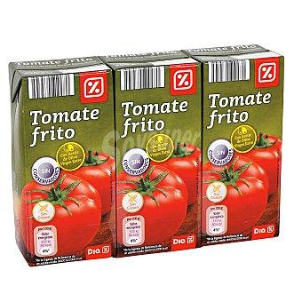 DIA Tomate frito con aceite de oliva Pack 3 unidades 390 gr