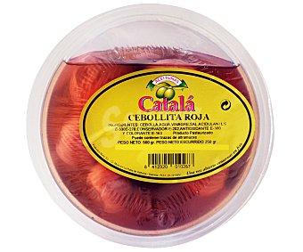 A. CATALÁ Cebollita roja Tarrina de 500 Gramos
