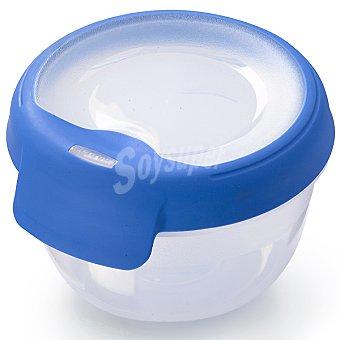 Curver Hermetico redondo tapa transparente y azul 04 l l