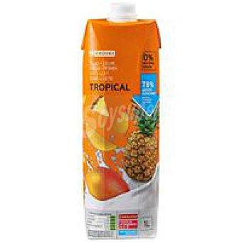 Eroski Lactozumo tropical Brik 1 litro