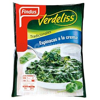 Findus Espinacas a la crema Verdeliss  Bolsa 450 g (2 raciones)