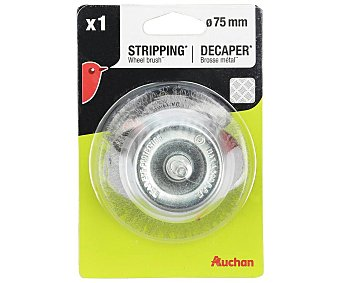Auchan Cepillo copa metalico 75mm
