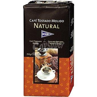 Hipercor Café tostado molido natural Paquete 250 g