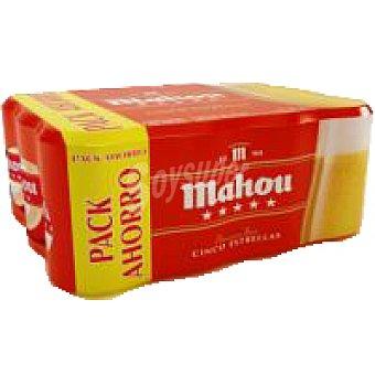 Mahou Cerveza 5 estrellas Pack 12x33 cl