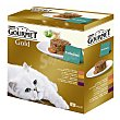 Comida húmeda para gato Pack 8 x 85 g  Purina Gourmet
