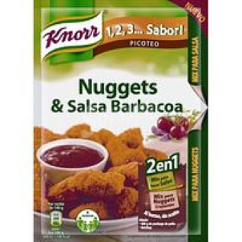 KNORR Nuggets con Salsa 60 Gr