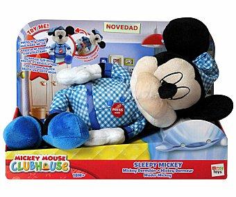 Disney Muñeco de Peluche con Funciones Mickey Dormilón 1 Unidad