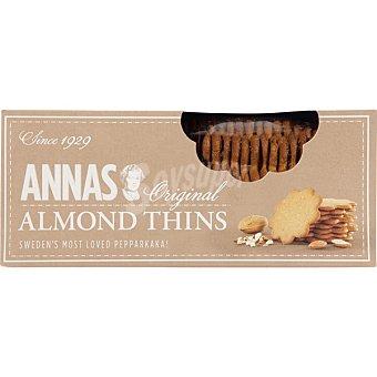 ANNA'S Galletas originales almendras Thins Estuche 150 g