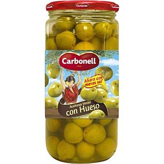 Carbonell Aceitunas de manzanilla enteras Tarro 400 g