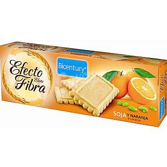 Bicentury Galletas de soja y naranja Efecto Fibra Envase 160 g