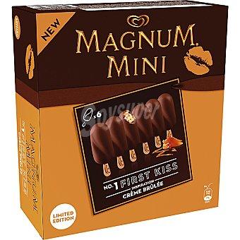 Magnum Frigo mini bombón helado con crema tostada Mini First Kiss estuche 300 ml 6 unidades