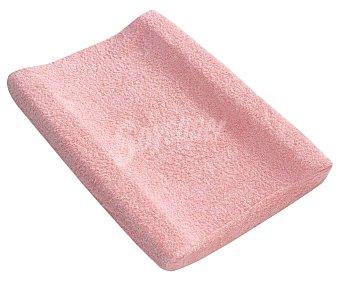 Interbaby Funda rizo para cambiador o vestidor color rosa