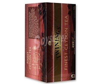 Twinings Té Finest Ceylan (té negro) 25 Unidades (50 g)