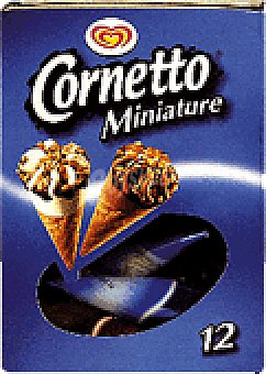 Frigo Cornetto Helado mini.nat-choc 12 UNI