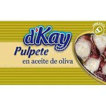 DKAY Pulpete en aceite de oliva Lata 112 g