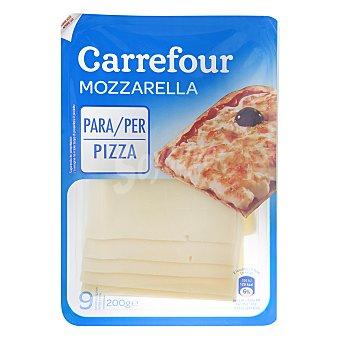 Carrefour Queso mozarella en lonchas 200 g