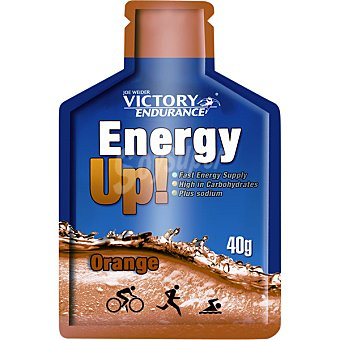 VICTORY ENDURANCE Energy Up gel sabor naranja Envase 40 g