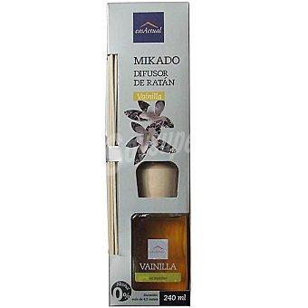 CASACTUAL Mikado Ambientador en varillas aromáticas Vainilla 240 ml
