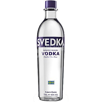 SVEDKA Vodka premium de Suecia botella 70 cl 70 cl