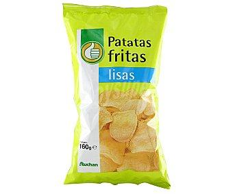 Productos Económicos Alcampo Patatas fritas lisas 160 gramos