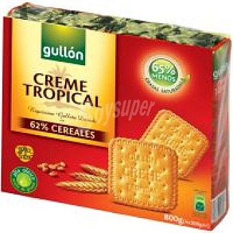 Gullón Creme Tropical Caja 800 g + 25%