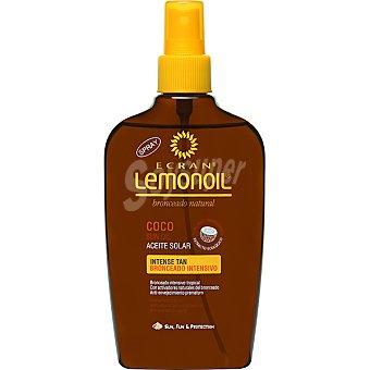 Ecran Sun Lemonoil Broncea y proteje aceite protector coco bronceado intensivo Spray 200 ml