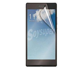 MUVIT Set de 2 protectores de pantalla (1 mate + 1 brillo), válidos para Huawei P8 8 protector pantalla