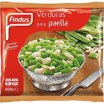 FINDUS Verdura para paella bolsa 400 g