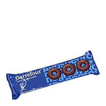 Carrefour Aros de chocolate negro 150 g