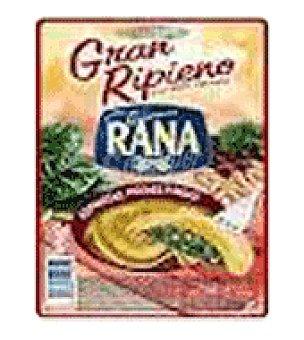 GRAN Pasta ripieno rana espinacas, pasas y piñones 250 GRS
