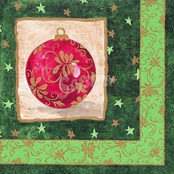 PAP STAR servilletas decorado Navidad 3 capas 33x33 cm  paquete 20 unidades